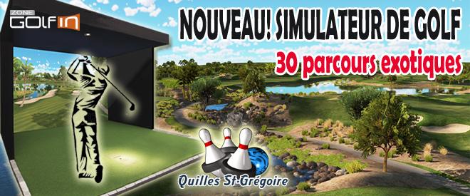 Simulateur De Golf Unev1